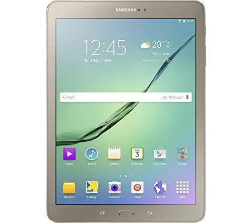 Samsung 8-Inch Galaxy Tab S2 AMOLED Tablet-PC - (Qualcom APQ 8076, 3 GB RAM, 32 GB eMMC, Android 6.0) - Gold (Certified Refurbished)