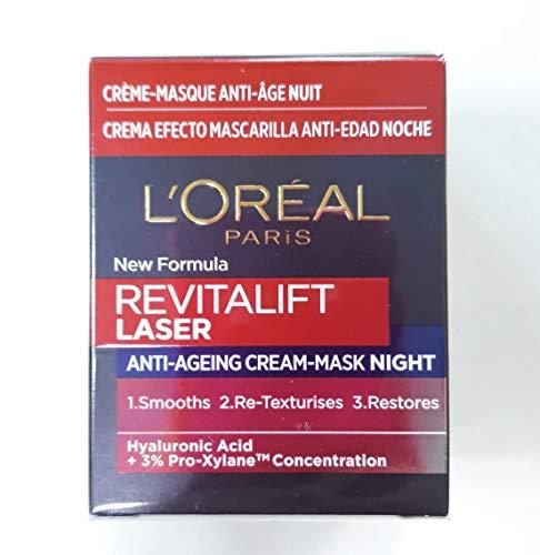 Loreal Revitalift Laser Antiedad Crema Noche Nueva Formula 15 ml