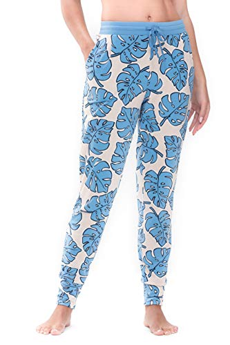 Mey Night2day Night2Day Damen Yoga Pants Blau XXL