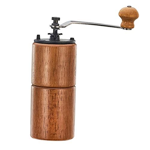 Handmatige koffiemolen- hand conische bonen slijpmachines met gietijzeren mechanisme – draagbare houten braam…
