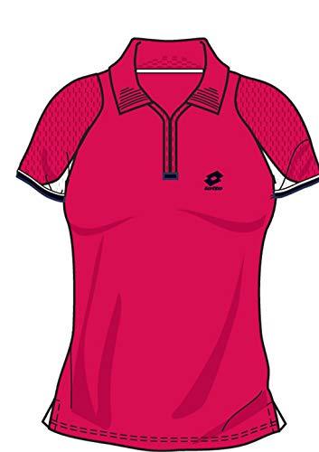 Lotto Poloshirt WTA Tour Gold, Damen, Gr. L (38-40), Geranium