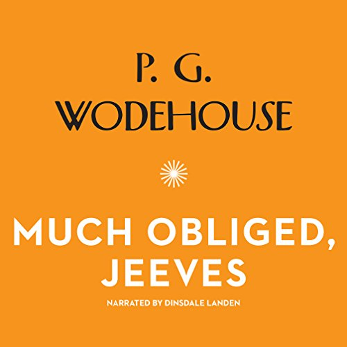 Much Obliged, Jeeves audiobook cover art