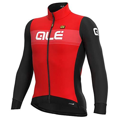 Alé Cycling PR-S Logo DWR Langarm Trikot Herren red/Black Größe XL 2020 Radtrikot langärmlig
