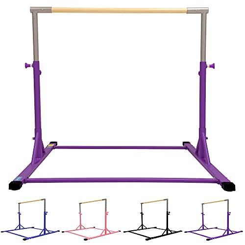 Z ATHLETIC Gymnastikstange, erweiterbar, Violett