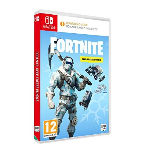 """Fortnite: Pack froid éternel """"Code de téléchargement des accessoires + 1000vBucks"""" [Nintendo Switch]"""