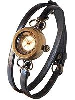 (ヴィー) vie 手作り腕時計 elegance エレガンス 2重ベルト レディース (受注制作) (ラベンダー)