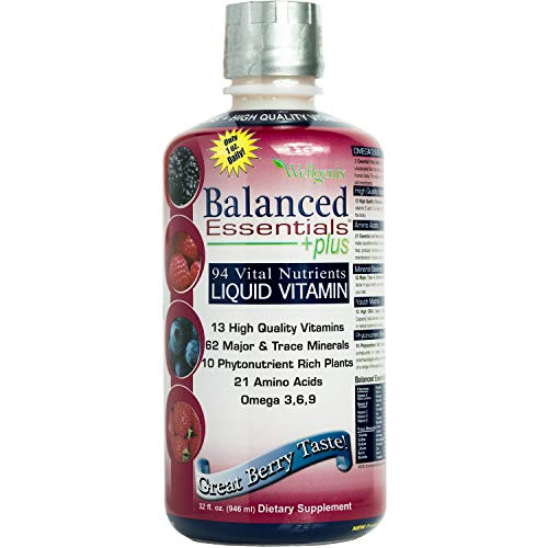 Balanced Essentials Liquid Nutritional Supplement, 32 Ounces - Very Berry