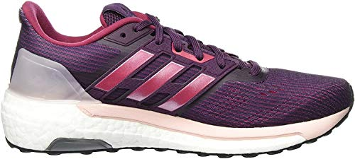 adidas Supernova, Zapatillas de Running para Mujer, Multicolor (Red Night/Energy Pink/Mystery Ruby), 38 EU