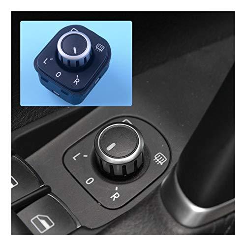 xy Control de Espejo Interruptor de Energía Eléctrica Espejo de Cara Botones de Control 1K0959565 1K0959565H for VW Golf MK5 MK6 / Passat B6 / Tiguan/EOS Interruptor de Control de Espejo retrovisor