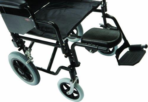 Drive Medical Z17960-01 Rollstuhl-Halterung für Amputierte, aus Aluminium, links
