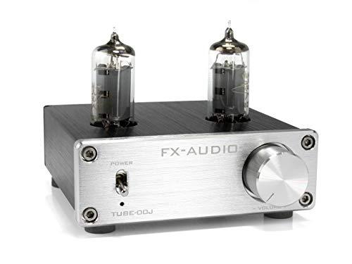 FX-AUDIO- TUBE-00J 本格真空管ラインアンプ (シルバー)