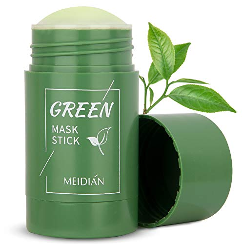 Green Tea Stick Mask Purifying Clay, Face Moisturizer, Oil Control, Deep Cleansing & Nourishing for Women and Men with All Skin Types by Rictex