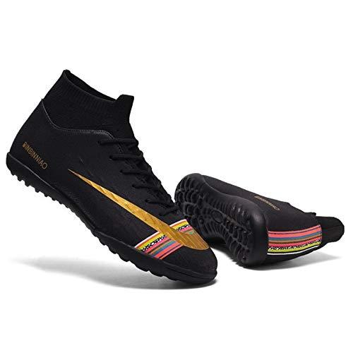 Competition shoes Botas de fútbol para hombres High Top Spikes Clase de calcetines para la competencia interior de la competencia al aire libre zapatillas de deporte profesional zapatos de fútbol zapa