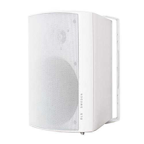 DLS MB5i Allwetter-Lautsprecher, Weiß, 2 Stück