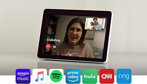 """Product Image 20: Echo Show (2nd Gen)   Premium 10.1"""" HD smart display with Alexa – stay connected with video calling – Sandstone"""