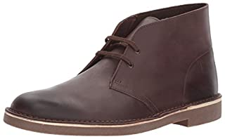 Clarks Men's Bushacre2 New Color Chukka Boot, Dark Brown Leather, 9.5 M US (B01MXWLPDC) | Amazon price tracker / tracking, Amazon price history charts, Amazon price watches, Amazon price drop alerts