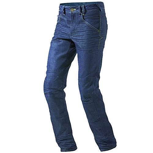 Jet Motorradhose Jeans Kevlar Aramid Mit Protektoren Herren (58 Regulär/Weite 42