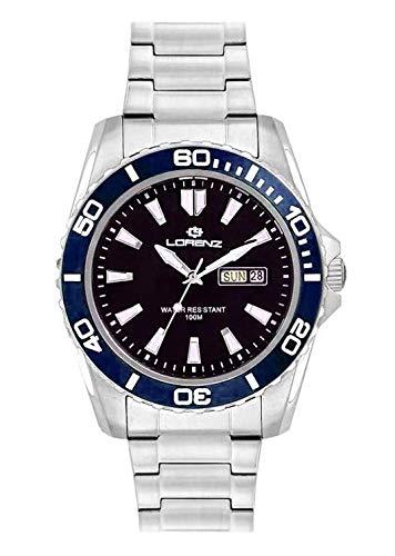 Lorenz - Reloj de hombre 26116EE 100 metros
