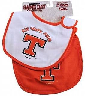 Jenkins Enterprises Tennessee Volunteers Team Logo Baby Bibs - 2 Pack