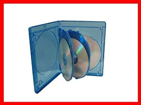 15mm Viva Elite Hold 5 Discs Blu-ray Replacement Case 5 Pack (5 Tray)