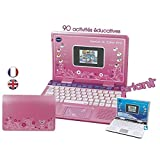 Vtech - 133865 - Ordinateur Pour Enfants - Genius Xl Color Pro Bilingue - Rose - Version FR