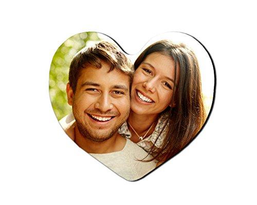 Imán Personalizado con tu Foto en Forma de corazón