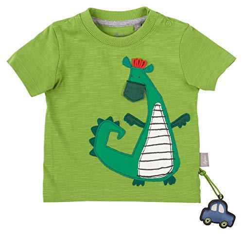 Sigikid Baby-Jungen T-Shirt, Drache/Grün, 92