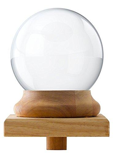 Amlong Crystal Newel Post Cap Finial - Crystal Ball 150mm (6 inch) Diameter