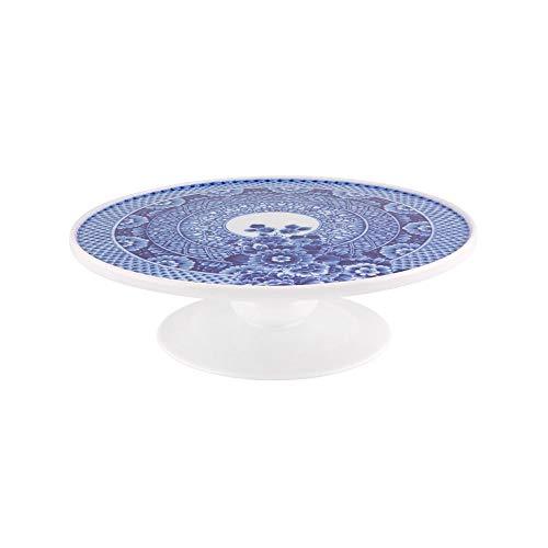 VISTA ALEGRE Marcel Wanders Soporte para Tartas, Color Azul
