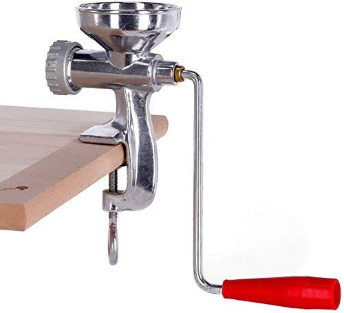 Torchio per Pasta Fresca con 3 Trafile in Ottone e Ghiera in Alluminio | per Spaghetti, Maccheroni e Bucatini | Macchinetta Pasta Maker Tagliapasta.Com [Made in Italy]