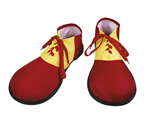 Boland- Zapatos Clown Multicolor, 55509