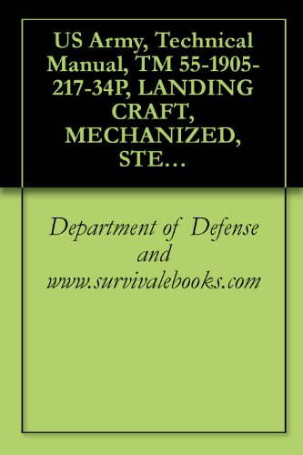 US Army, Technical Manual, TM 55-1905-217-34P, LANDING CRAFT, MECHANIZED, STEEL, DED, OVERALL LENGTH 74-FEET, MARK VIII, NAVY DESIGN LCM-8, 1973 (English Edition)