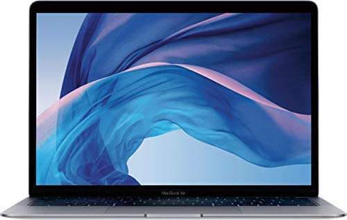 Apple MacBook Air 13.3' (i5-8210y 8gb 128gb SSD) QWERTY U.S Keyboard MRE82LL/A Late 2018 Space Gray (Renewed)
