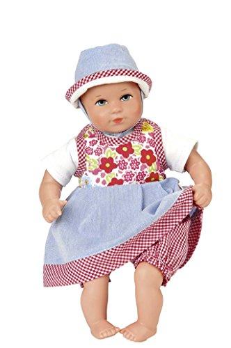 Käthe Kruse 36477 - Puppe Mini Bambina Lina mit Tasche