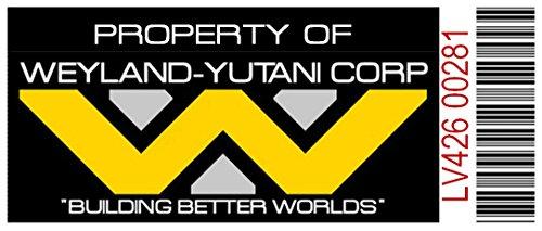 Asset Tag - Property of Weyland-Yutani