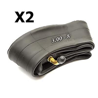 2x 8'' Mobility Scooter Inner Tube Size 3.00-8 Bent Valve Electric Wheelchair 300-8 Tube 8 Inch