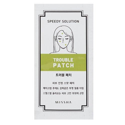 MISSHA Speedy Solution Anti Trouble Patch 5Sheets/ミシャ スピーディー ソリューション アンチ トラブ...