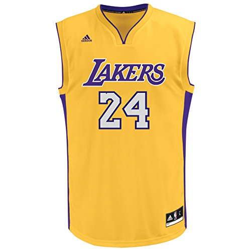 NBA Los Angeles Lakers Youth Kobe Bryant Home Replica Jersey (Gold ...