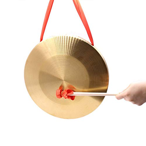 Tzong 15.5 cm/6.1 inch Gongs Tambourine Cymbals Percussion Musical Instruments