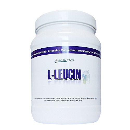 Pharmasports L-Leucin - 750 Gramm reines L-Leucin Pulver