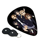 K-On Anime Guitar Picks With A Leather Package Guitar Picks For Electric Guitar Acoustic Guitar 6 Pack Guitar Plectrums