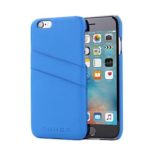 Snugg Custodia Ultra Sottile iPhone 6/6s, 8482; - Astuccio Blu in Ecopelle con Taschini per carte per Apple iPhone 6 e iPhone 6s