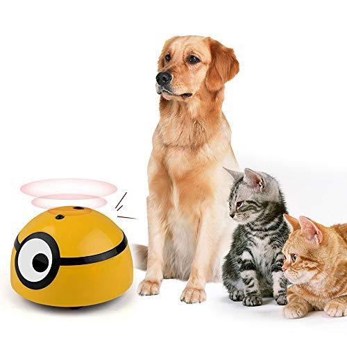 YongZhiFang Elektrisch Interaktives Katzenspielzeug,Katzen Spielzeug Haustier Katze Toy,cat Intelligentes Fluchtspielzeug mit Infrarotinduktion,(Stil: Ohne Fernbedienung)