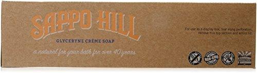 Sappo Hill soapworks crema de glicerina jabón de almendra 104ml