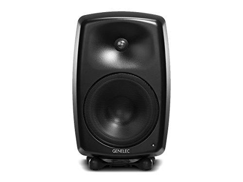 Genelec G Five Aktiv Lautsprecher Active Monitor Speakers, Schwarz (Paar)