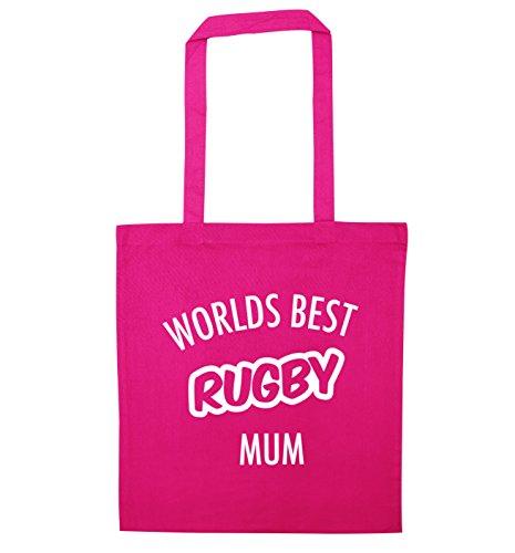 Flox Creative - Borsa a tracolla per la mamma di rugby rosa Etichettalia unica