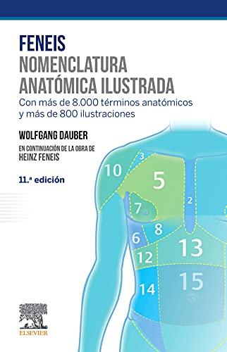 Feneis. Nomenclatura anatómica ilustrada (11ª ed.)