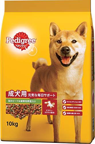 ペディグリー 成犬用 旨みビーフ&緑黄色野菜入り 10kg [ドッグフード・ドライ]