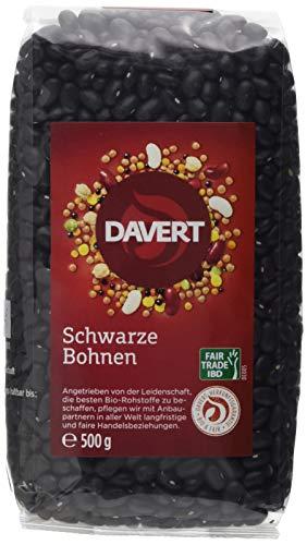 Davert Schwarze Bohnen (1 x 500 g)