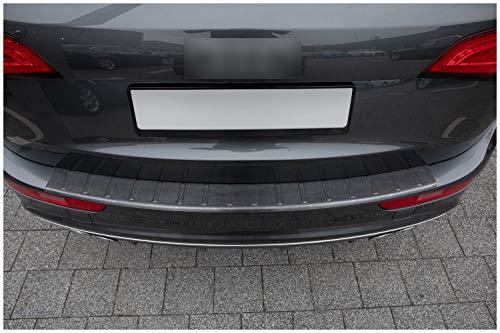 tuning-art L247 Edelstahl Ladekantenschutz Anthrazit für Audi Q5 8R -2016 5 Jahre Garantie